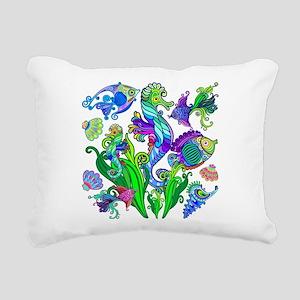 Exotic Marine Life Decorative Style Rectangular Ca