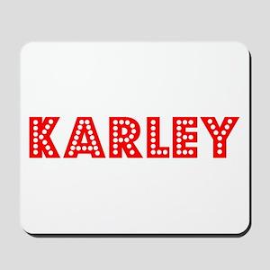 Retro Karley (Red) Mousepad