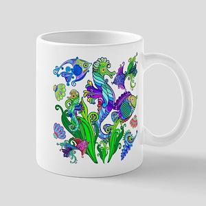 Exotic Marine Life Decorative Style Mugs