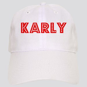Retro Karly (Red) Cap