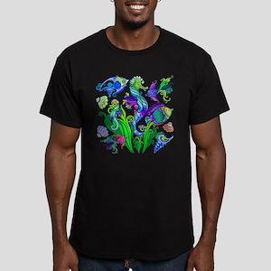 Exotic Marine Life Decorative Style T-Shirt