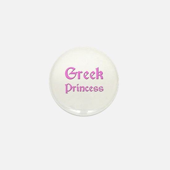 Greek Princess Mini Button
