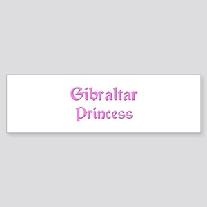 Gibraltar Princess Bumper Sticker