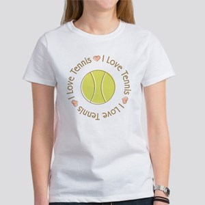 I Love Heart Tennis Women's T-Shirt