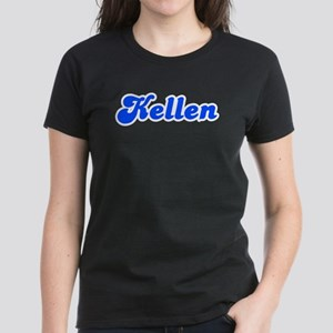 Retro Kellen (Blue) Women's Dark T-Shirt