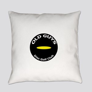 Old Guys Disc Golf Club Everyday Pillow