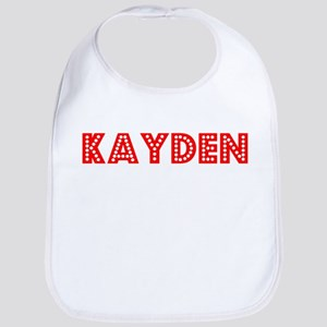 Retro Kayden (Red) Bib