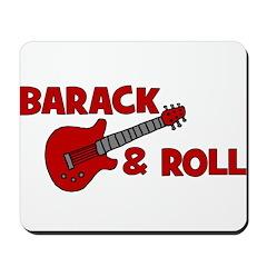 BARACK & ROLL Mousepad