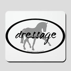 Dressage Sidepass w/ Text Mousepad