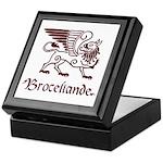 Broceliande Keepsake Box - red
