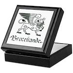 Broceliande Keepsake Box - green
