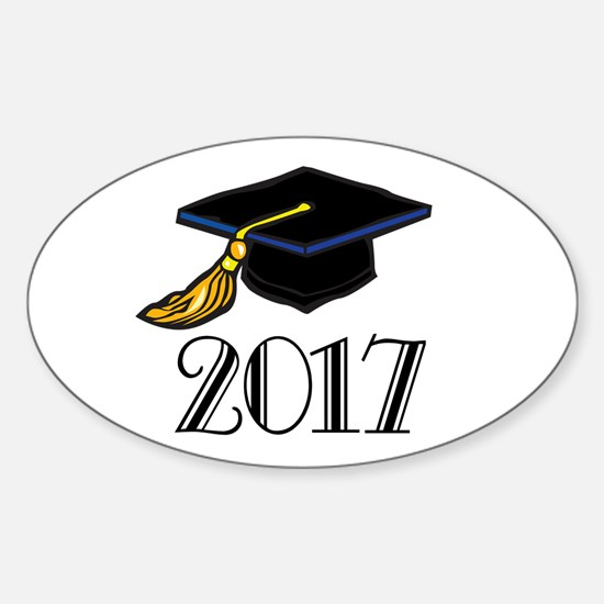 2017 Graduation Oval Decal