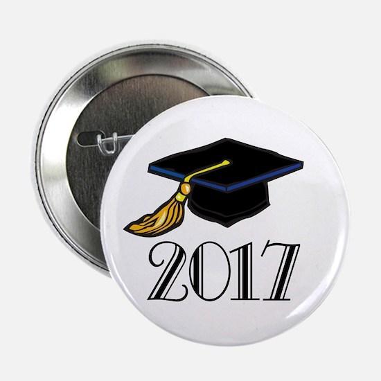 """2017 Graduation 2.25"""" Button"""