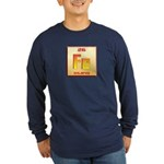 Iron Long Sleeve Dark T-Shirt