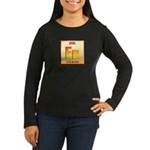 Iron Women's Long Sleeve Dark T-Shirt