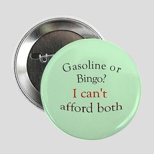 """gas or bingo 2.25"""" Button"""