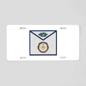 Masonic Senior Deacon Apron Aluminum License Plate