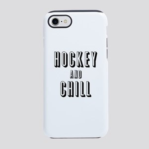 Hockey & Chill iPhone 8/7 Tough Case