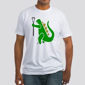 Lacrosse Laxasaurus 1 Fitted T-Shirt