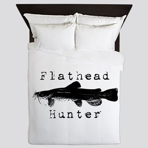 Flathead Catfish Hunter Queen Duvet