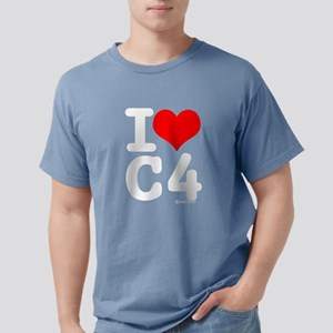 I Love C4 Black T-Shirt