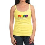 The world is a colorful place Jr. Spaghetti Tank