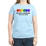The world is a colorful place Women's Light T-Shir