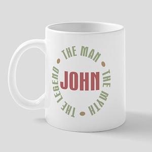 John Man Myth Legend Mug