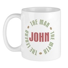 John Man Myth Legend Mug