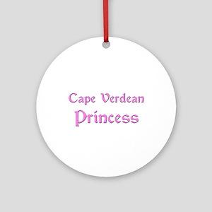 Cape Verdean Princess Ornament (Round)