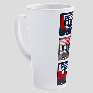 Pepsi Flashback Tapes 17 oz Latte Mug