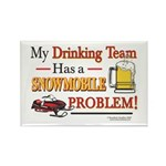 Drinking Team Rectangle Magnet (100 pack)