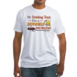 Drinking Team Fitted T-Shirt