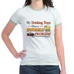 Drinking Team Jr. Ringer T-Shirt