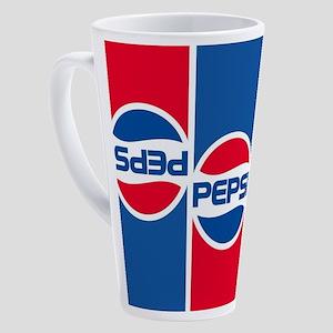 Pepsi Flashback Logo 17 oz Latte Mug
