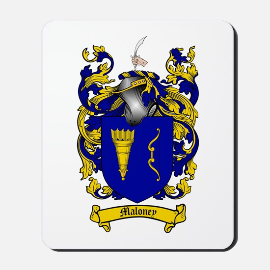 Maloney Family Crest Mousepad