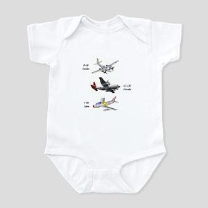 Fighter Jets Infant Bodysuit