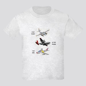 Fighter Jets Kids Light T-Shirt