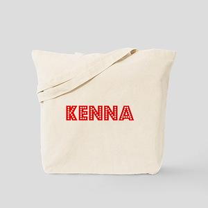 Retro Kenna (Red) Tote Bag