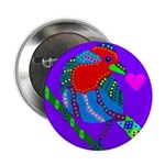 """House Finch 2.25"""" Button (10 pack)"""