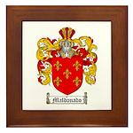 Maldonado Family Crest Framed Tile