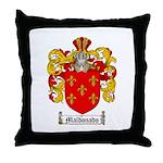 Maldonado Family Crest Throw Pillow