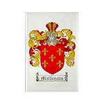 Maldonado Family Crest Rectangle Magnet (10 pack)