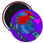 """House Finch 2.25"""" Magnet (100 pack)"""
