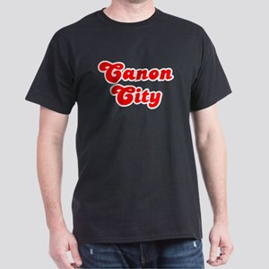 Retro Canon City (Red) Dark T-Shirt