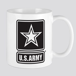U.S. Army Black & White Logo Mug