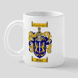 Maher Family Crest Mug