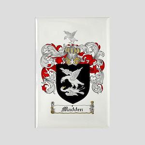 Madden Family Crest Rectangle Magnet (10 pack)