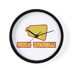 SNL More Cowbell Wall Clock
