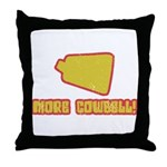 SNL More Cowbell Throw Pillow